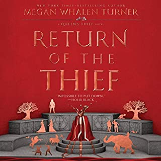 Return of the Thief audiobook cover art
