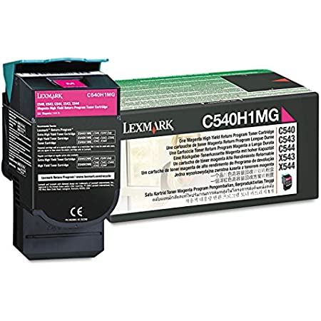 Lexmark C540H1MG High-Yield Toner, 2000 Page-Yield, LEXC540H1MG