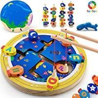 Teytoy Alphabet Color Catching Counting Preschool Board Games