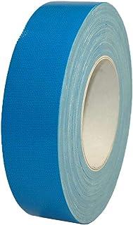 شريط لاصق قماشي من اطلس، لون ازرق - 1 انش × 25 م (25 ملم)