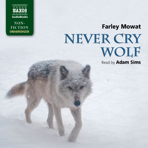 Never Cry Wolf audiobook cover art
