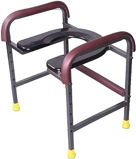 Toilet chair Silla Inodoro de cabecera Liviana, Plegable Silla de Ducha médica, Pesado -