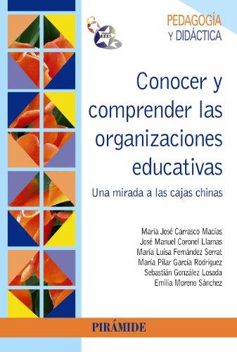 Conocer y comprender las organizaciones educativas: Una mirada a las cajas chinas (Psicología)