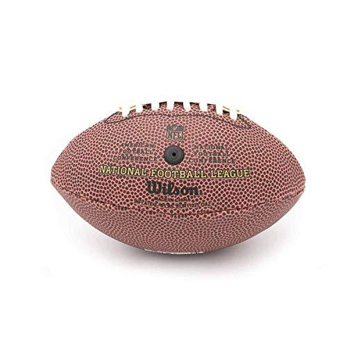 Wilson Men's NFL Football Duke Replica, Brown, Micro