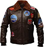 Top Gun Tom Cruise Lt. Pete Maverick Mitchell Bomber - Chaqueta