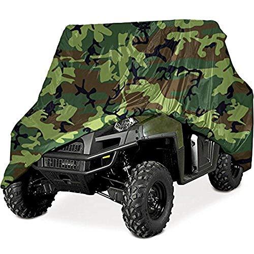 210D UTV Abdeckplane 2,9 * 1,5 * 1.9 m Fahrzeug Abdeckung Schutz Cover Winterfest Staub Regen UV-Schutz Camouflage