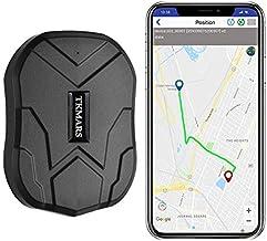 TKMARS Starker Magnet GPS-Tracker, 3 Monate Lang Standby GPS, Fahrzeug Tracker Echtzeit..