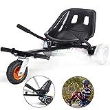 ZY Kart Hoverboard Seat Attachment Adjustable Go Karts 6.5' 8' 10' Hover Self Balancing Scooter Hoverboards