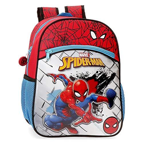 Marvel Spiderman Red Mochila Preescolar, Rojo