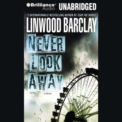 Never Look Away audiobook cover art