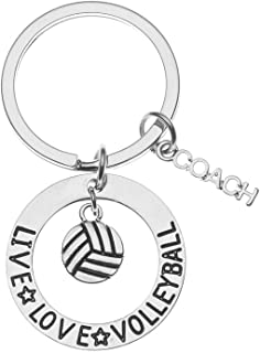 Volleyball Coach Gift- Volleyball Coach Keychain - Perfect Volleyball Gifts for Volleyball Coaches