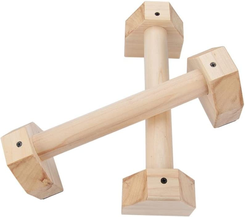 boomprospect Wood Parallettes H Wooden Calisthenics Hands Oakland Mall New product type Shaped