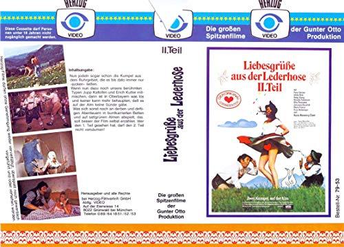 Liebesgrüße aus der Lederhose - 2. Teil - VHS-Einleger A4 - ohne Cassette/Hülle