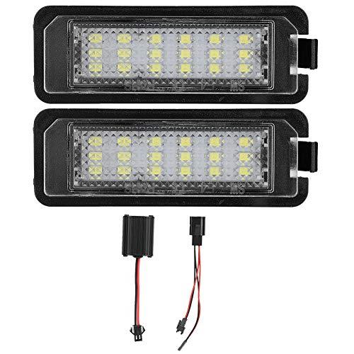 Kennzeichenbeleuchtung-2pcs 3528SMD Auto LED Kennzeichenbeleuchtung Fehlerfreie Kennzeichenbeleuchtung Glühbirne für LUPO Autozubehör