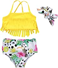 Baby Girl Babies Swimwear Tassels Floral Pinapple Bowknot Swimsuit Bathing Suit Bikini Set Outfits Summer