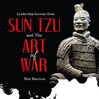Leadership Lessons from Sun Tzu and The Art of War audiobook cover art