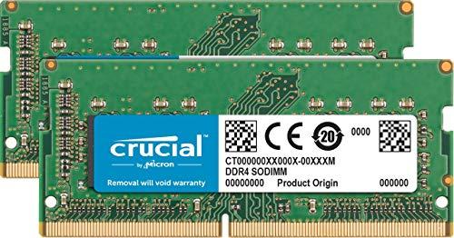 Crucial RAM CT2K32G4S266M 64 GB (2 x 32 GB) DDR4 2666 MHz CL19 Kit de memoria Mac