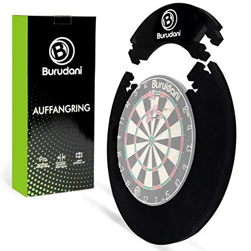 Burudani ® Dart Auffangring | Hochwertiger Dart Surround [3cm] Wandschutz | Ideale Passform für alle Standard Dartscheiben