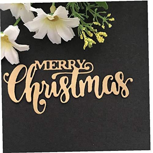 Case&Cover Il Taglio di Metalli Die Buon Natale Word Die Cut Scrapbooking Acciaio Creare Francobolli Carte di Goffratura Art Punch Stencil