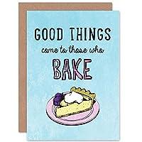 BAKE CAKE GOOD THINGS ART GREETINGS GREETING CARD GIFT 良い挨拶贈り物