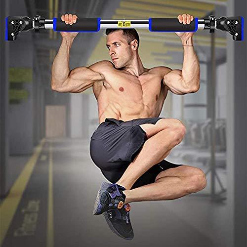 Klimmzugstangen für die Türöffnung, Keine Schrauben Klimmzugstange mit Verriegelungsmechanismus, Hochleistungs-Heimfitness-Tür-Übungsstange für Heimgymnastik-Übungsfitness-72-105cm