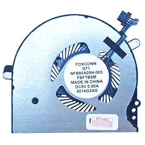 (Version 1) Lüfter Kühler Fan Cooler kompatibel für HP Pavilion 15-CC, Pavilion 15-cc000, Pavilion 15-cc100, Pavilion 15-cc500