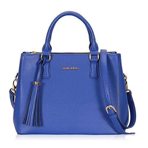 Veevan - Borse da donna, eleganti, colore: Blue-B