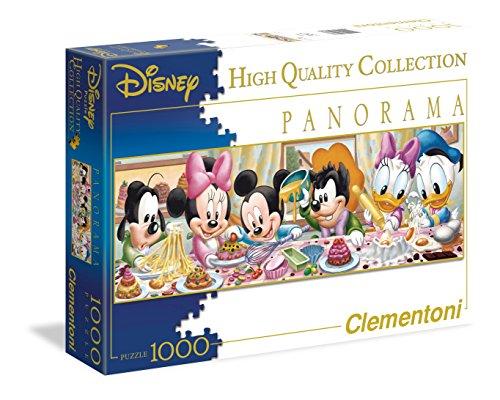 Clementoni 39263.6 - Puzzle Disney Panorama Kollektion Disney Babies, 1000 Teile