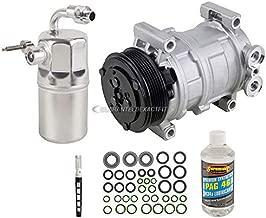 AC Compressor & A/C Kit For Chevy Silverado & GMC Sierra 4.3L V6 & 6.6L Duramax Diesel - BuyAutoParts 60-80166RK New