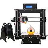 2016 Aufgerüstet Hohe Präzision Reprap Prusa i3 DIY 3D Drucker 3d Printer DIY Kit (Inklusive 1x 1,75 mm ABS/PLA Filament)