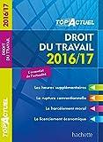 TOP Actuel Droit Du Travail 2016/2017
