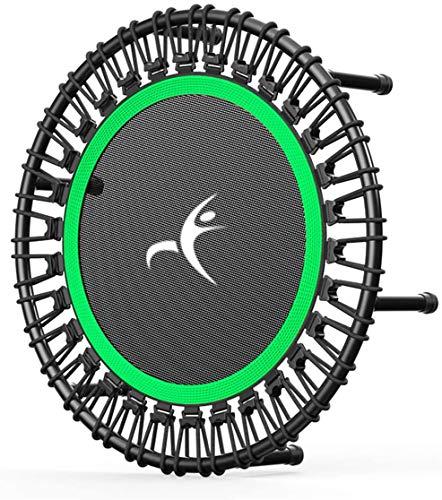 Trampoline, Volwassen Mini Trampoline, Fitness Trampoline, Rustig En Stabiel Bouncing, Geschikt Voor Kinderen Volwassen Sports Trampoline Indoor En Outdoor Sport, Maximale Belasting 500 Kg