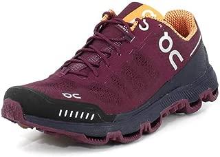 On-Running Womens Cloudventure Mulberry/Salmon Running Shoe - 6.5