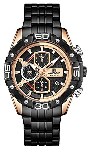 Reloj - NAVIFORCE - Para - TTNF8018-Rose Gold S