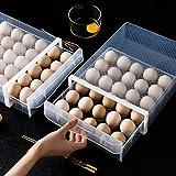 Sunneey Estante De Almacenamiento De Huevos Rejilla 30 De Una Sola Capa Caja...