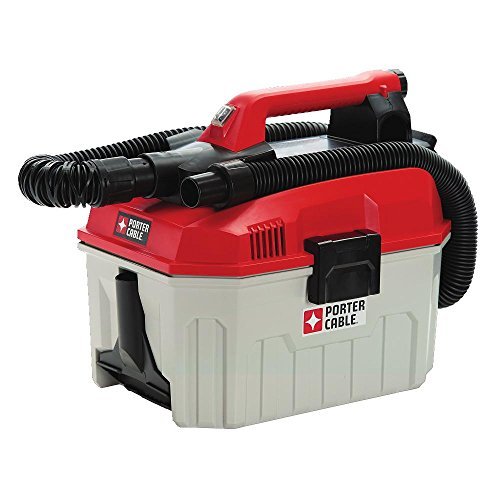 PORTER-CABLE PCC795B 2 Gallon Cordless Shop Vac