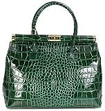 Belli 'The Bag XL Leder Henkeltasche Handtasche Damen Ledertasche Umhängetasche - 34x25x16 cm (B x...