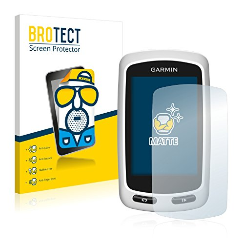 BROTECT Protector Pantalla Anti-Reflejos Compatible con Garmin Edge Touring (2 Unidades) Pelicula Mate Anti-Huellas