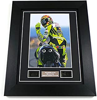 Valentino Rossi Autograph The Doctor 46 Limited Edition by artcandi