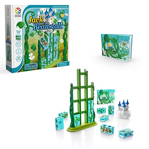 SmartGames Jack and The Beanstalk Deluxe Skill-Building Puzzle Game for Ages 4+