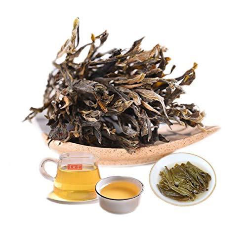 400g (0.882LB) Tè Pu'er crudo Nuovo tè Puer Yunnan Fatto a mano Albero antico Tè Puer Tè verde Tè Pu-erh Vecchi alberi Tè Pu erh Tè cinese Tè Puerh sano Verde Buono Sheng cha