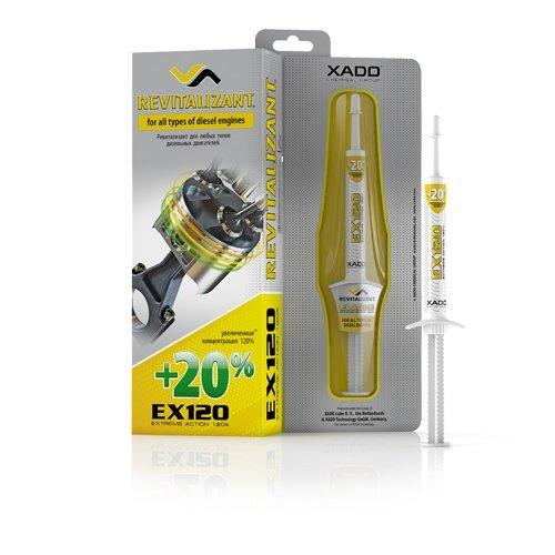 XADO EX120 Gel revitalisant Moteurs Diesel - Additif Moteur