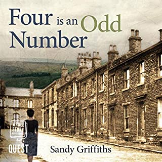 Four is an Odd Number audiobook cover art