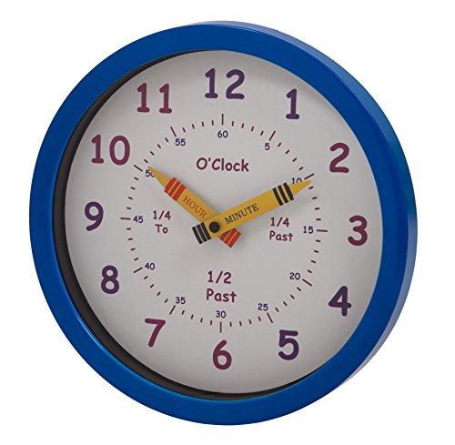 Viceni Limited Unity - Reloj de Pared para niños Henley 'Aprende Las Horas'