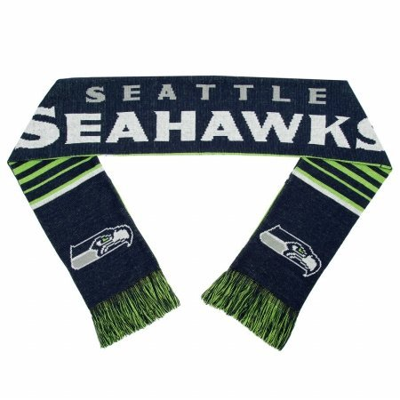 Forever Collectibles 9016312362 Seattle Seahawks Scarf Reversibile Stripe 2016 by Forever Collectibles