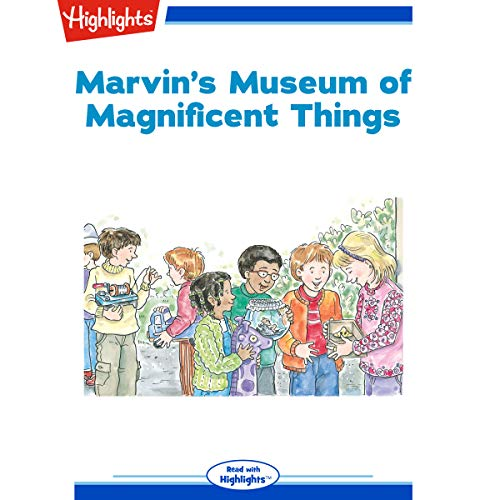 Marvin's Museum of Magnificent Things copertina