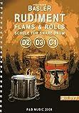 R & B Music Rudiment Flams & Rolls D2 D3 C1 · Lehrbuch