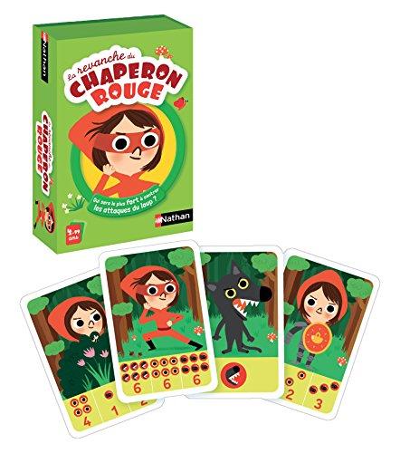 Nathan - La revanche du chaperon rouge - Jeu de cartes pour enfant, jeu de bataille dès 4 ans - De 2 à 4 joueurs
