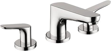 hansgrohe Talis S Modern 1-Handle 12-inch Wide Roman Tub Filler Freestanding Bathtub Faucet in Brushed Nickel 72415821