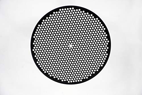 LloydPans 12 inch, Pre-Seasoned PSTK Hex Pizza Disk, Dark Gray